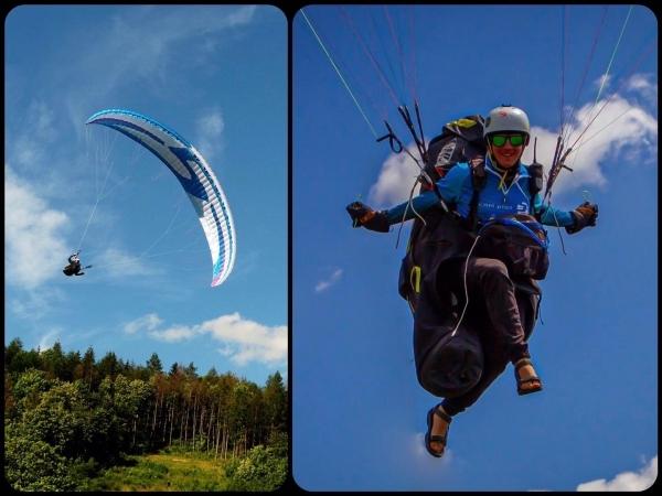 Paragliding: Báječná prázdninová jízda Kvida Hadaše