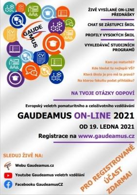 Tradiční veletrh Gaudeamus v roce 2021 pouze online