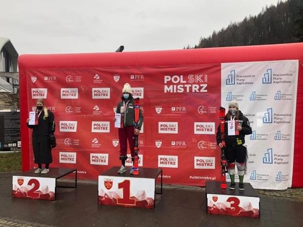 Hana Semeráková zvítězila ve slalomu FIS v Polsku