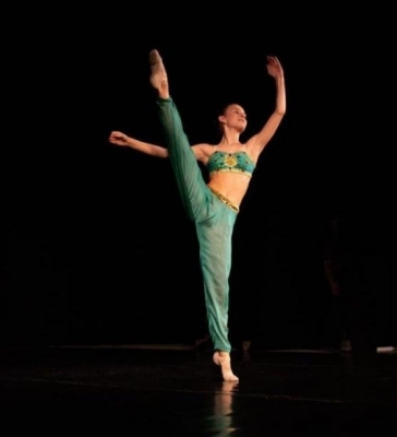 Daniela Valešová z kvarty úspěšná v celosvětové baletní soutěži.