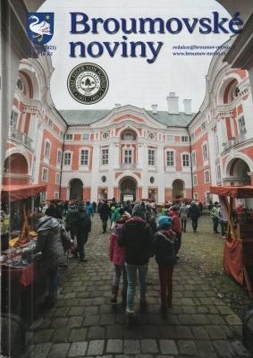 I lednové Broumovské noviny informují o našem gymnáziu