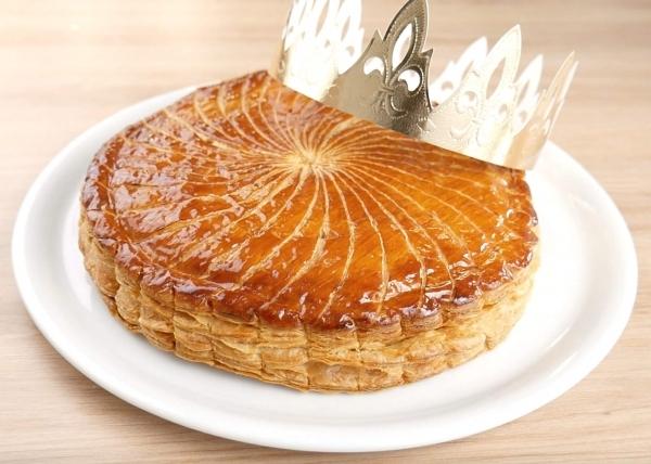 La galette des rois - Tříkrálový koláč  - opožděná zdravice francouzštinářů a také hozená rukavice němčinářům a ruštinářům! Bonne année 2021!