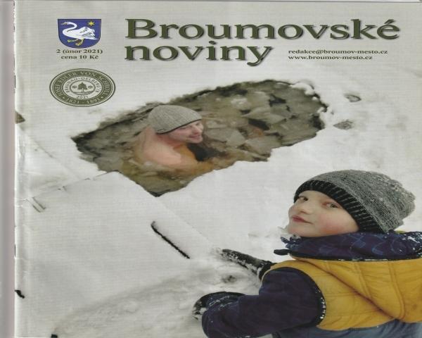 Broumovské noviny: Poděkování Vladimíru Uhnavému  za kytarové doprovázení bohoslužeb