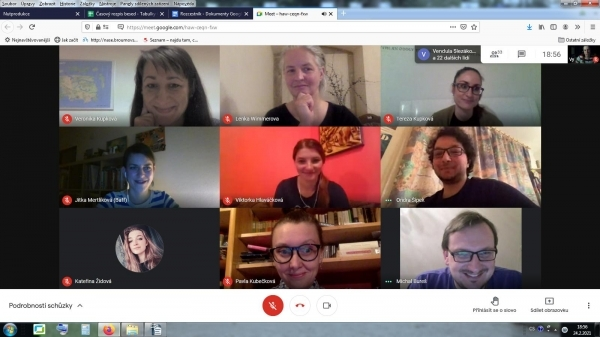 Podvečerní online debaty se zajímavými hosty