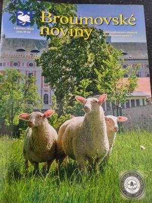 Broumovské noviny: Výborná ročníková práce a dalších sedm textů v květnovém čísle