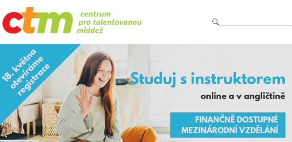 Registrace k online studium CTM již od 18. května