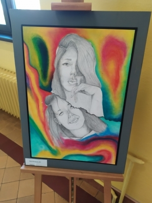 Nenechte si ujít: Výtvarná díla letošních maturantek si můžete prohlédnout ve 2.patře