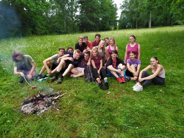 Studenti 1.ročníku posílají pozdrav z tajného výletu