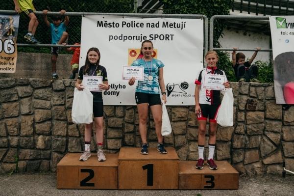 Český pohár koloběžek: Anna Kráčmarová na výborném 3.místě
