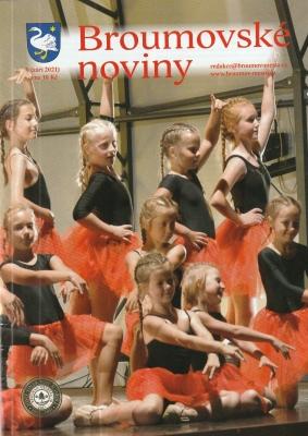 Co nabízí nové číslo Broumovských novin o naší škole?