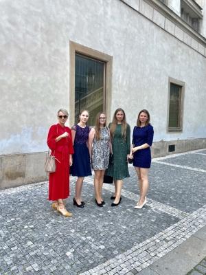Mezinárodní studentská česko - slovenská konference s naší účastí