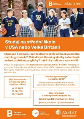 Studuj ve Velké Británii a USA zdarma