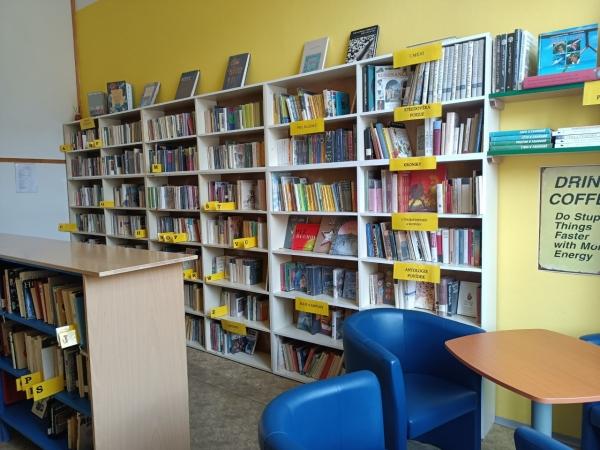 Školní knihovna restartována