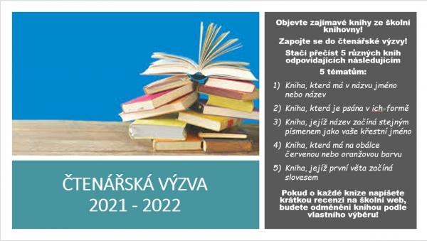 Čtenářská výzva 2021 - 2022
