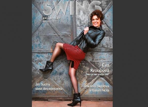 Psali o nás: Eva Kroupová, osobnost  Swingu