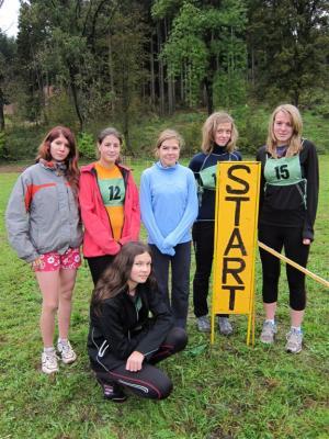 Krajské finále- přespolní běh dívek- 6.místo