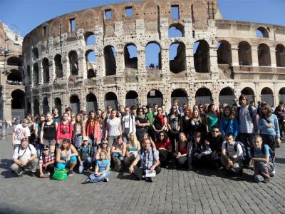 Florencie-Řím-Vatikán 2011- Milí studenti...