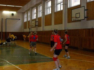 Gymnazistky na slušném 4.místě - Okresní finále volejbal