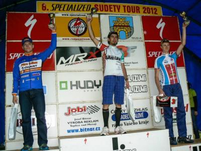 Jan Podstata má dobrou cyklistickou sezonu