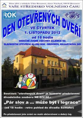 Klub ROK - Den otevřených dveří