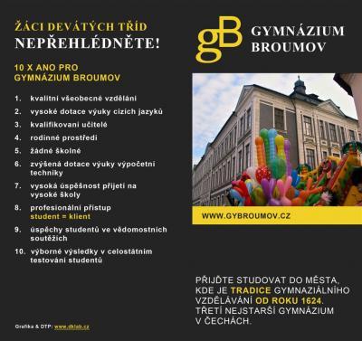 Gympl roku - Gymnázium Broumov