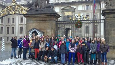 Předvánoční návštěva Prahy