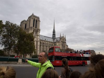 Paříž očima přítele Lenky Kubínové