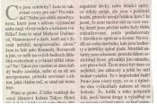 Studenti čtou a píší noviny - zveřejněné texty v MF DNES