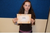 Scio testy- nejlepší studentky nižšího gymnázia-2011