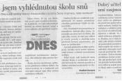 Podzim 2011 - Studenti čtou a píší noviny