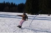 Lyžařský kurz-sekunda-karneval a slalom