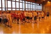Okresní finále v baskebalu